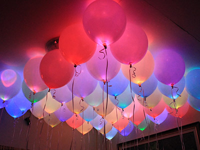 Balloons with Lights
